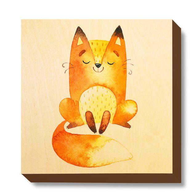 CHI 063 Children's Art - Watercolour Content Fox