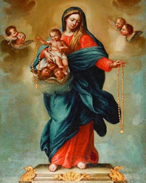 Cum Petro et sub Petro: Semper: A Serpente e o Rosário  Nossa Senhora do Rosário, rogai por nós.