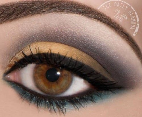 how to put simple eye makeup