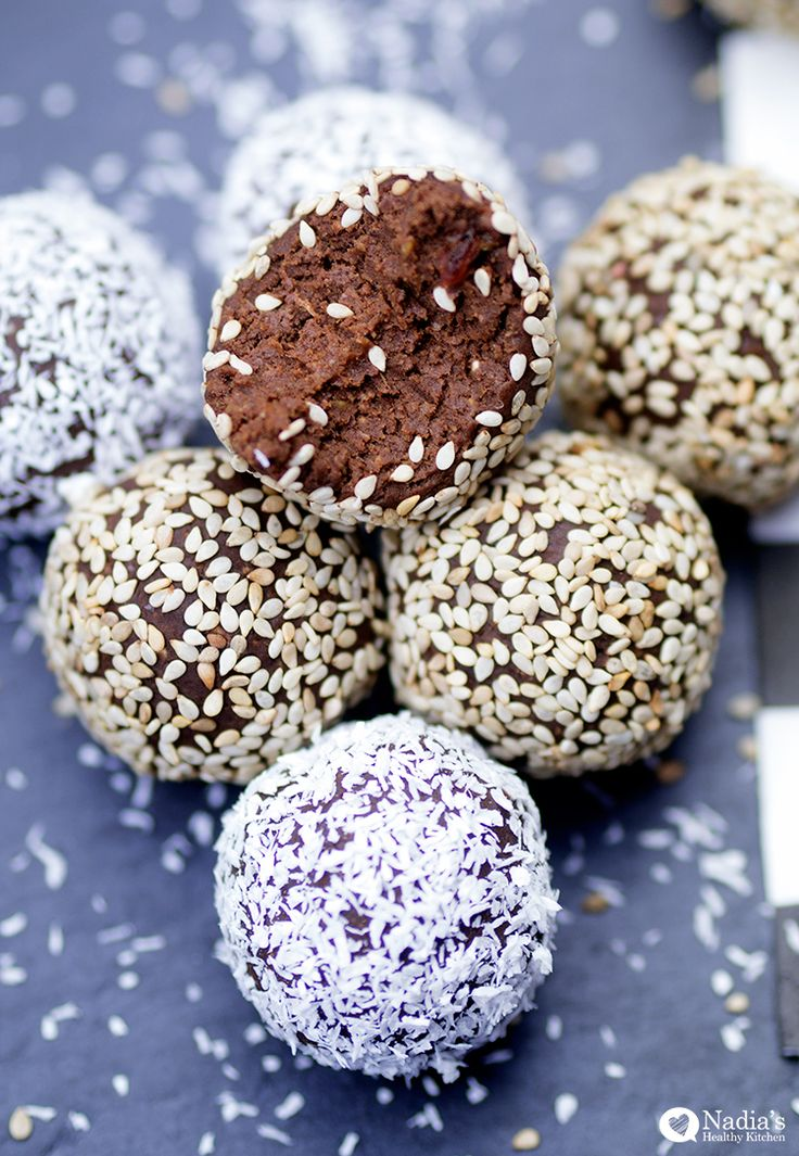 Chocolate Cardamom Tahini Truffles You'll hear different opinions on snacking - some will tell you to eat 3 meals and avoid snacking at all costs, others recommend it as a way to keep your sugar…