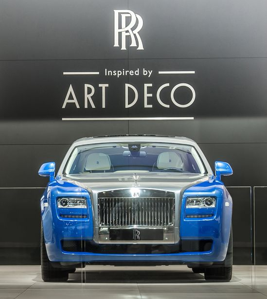 Art Deco inspired Rolls Royce cars unveiled at the Paris Motor Show