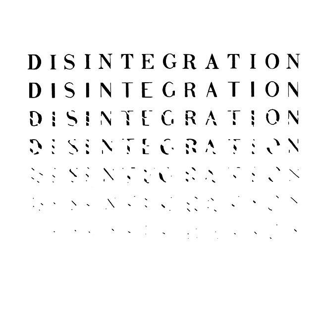"""Disintegration"" by Richard Kostelanetz (1970)"