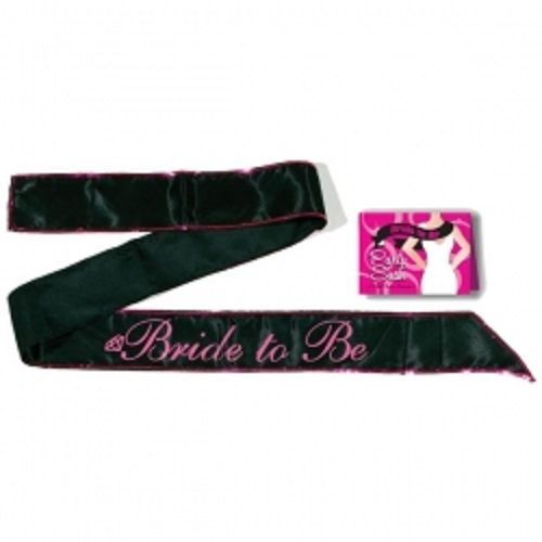 Brand-New-BRIDE-TO-BE-SASH-Black-Hens-Party-Sash