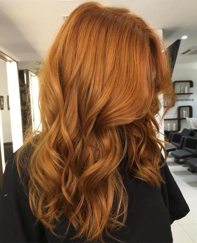 Long Wavy Red Hairstyle                                                                                                                                                                                 Más
