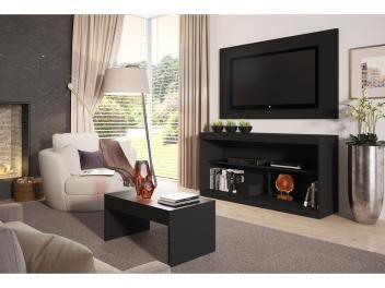 """Rack pra TV até 42"""" com Mesa de Centro e Painel - Multimóveis Inovare  R$ 209,99 em até 2x de R$ 105,00 sem juros no cartão de crédito"""