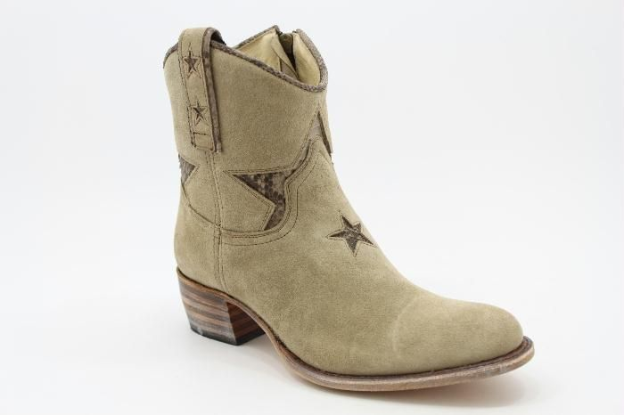 Sendra Star Bootie in Sand by Warmer