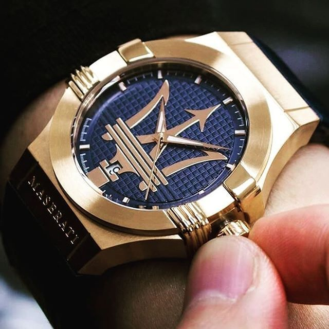 Power meets gold in this Maserati Potenza watch! Check out all our models: bit.ly/potenzas -- #astorbond #maseratitime #maseratiwatches #maseratiwatch #maserati #watchonmywrist #watchfam #watchporn #wristcandy #wristshot #timepiece #timepieces #watchlover #watches #menswatches #mensstyle #mensaccessories #watchofinstagram #affordableluxury @watchesofinstagram