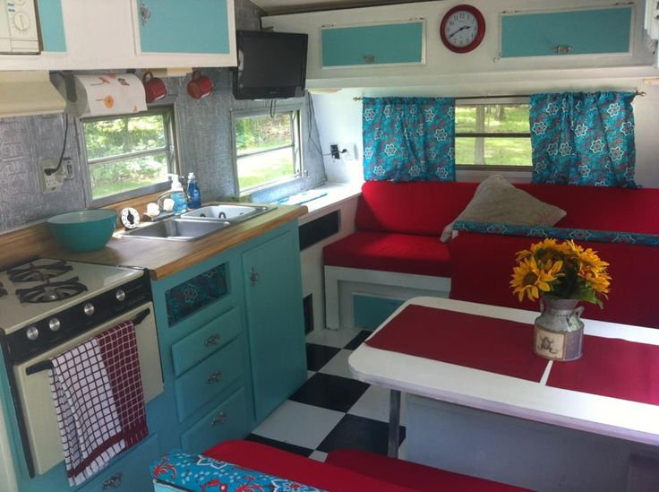 Our interior Remodel of a 1983 Wilderness Fleetwood