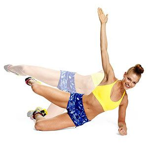 These are great ab exercises. And it has a video tutorial that shows correct form