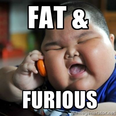 Chubby chinese boy