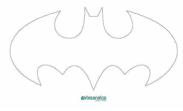 Molde De Morcego Para Imprimir E Recortar Molde Morcego Simbolo