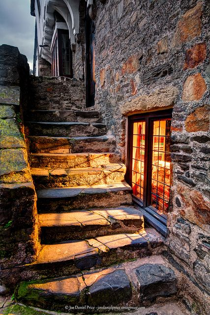 Aberconwy House , Castle Street, Conwy, North Wales  'Inviting Glow, Old House in Conwy, North Wales' by Fragga, via Flickr