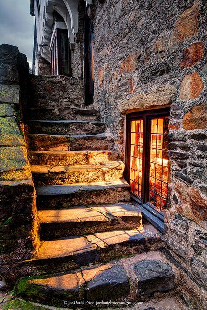 Aberconwy House , Castle Street, Conwy, North Wales  'Inviting Glow, Old House in Conwy, North Wales' by Fragga, via Flickr