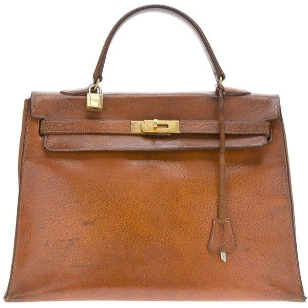 Herm?s Vintage Kelly 1970s handbag ($4,695) liked on Polyvore ...