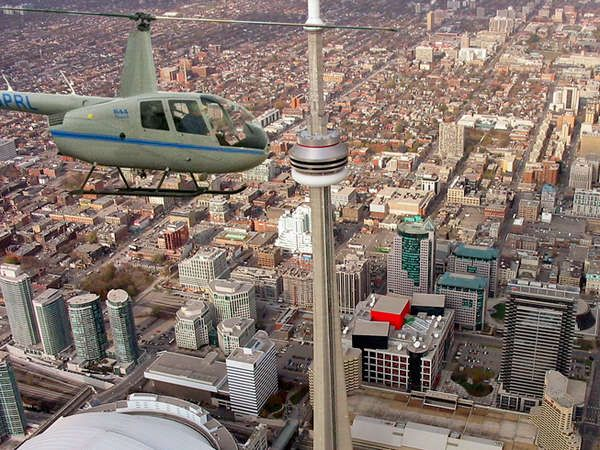 Helicopter Tour of Toronto and Digital Image: Toronto Heli Tours