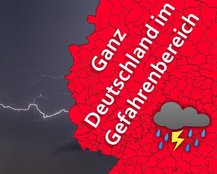 +++ Heftige Unwetter in der nächsten Zeit! +++  Hitze breitet sich auf das gesamte Land aus. Es wird wohl einer der bisher heftigsten Hitzewellen in diesem Sommer. Doch während der Hitze vergeht kein einziger Tag, an dem uns keine Unwetter drohen.  Mehr dazu: https://news.unwetter24.net/heftige-unwetter-in-der-naechsten-zeit/  #Unwetter #Gewitter #Hagel #Platzregen #Schauer #Böen #Starkregen