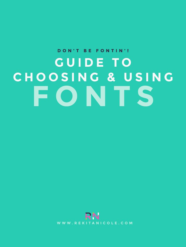 Hey Friends! When it comes to graphic and web design, the right font can make your logo or site look wonderful, beautiful, and cohesive. The wrong font can make your logo seem dull, over-saturated, confusing and it can make your site hard to read. There is essentially no rules to what font you use for your logo, your website, or even your business cards, but you must be mindful of who your audience is and remember that you business or blog is not for you...it is for your customers, c...