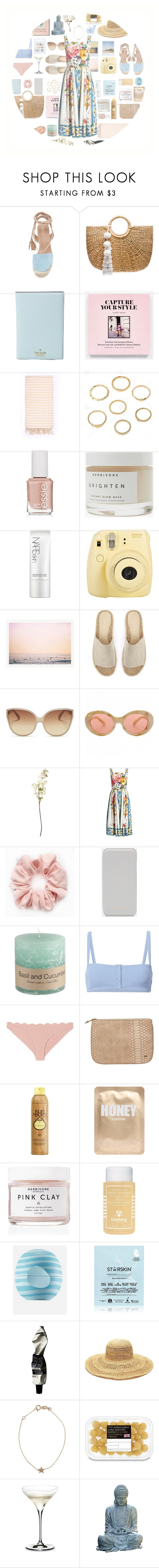 """.245"" by sweet-sour-98 on Polyvore featuring JADEtribe, Kate Spade, Turkish-T, Essie, Herbivore, NARS Cosmetics, Fuji, Polaroid, Mint Velvet and Linda Farrow"