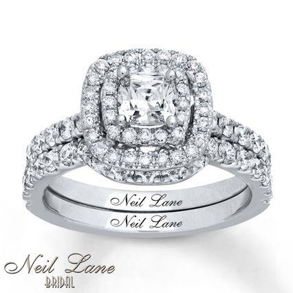 The 25 best neil lane bridal set ideas on pinterest engagement kay neil lane bridal set 1 58 ct tw diamonds 14k white junglespirit Choice Image