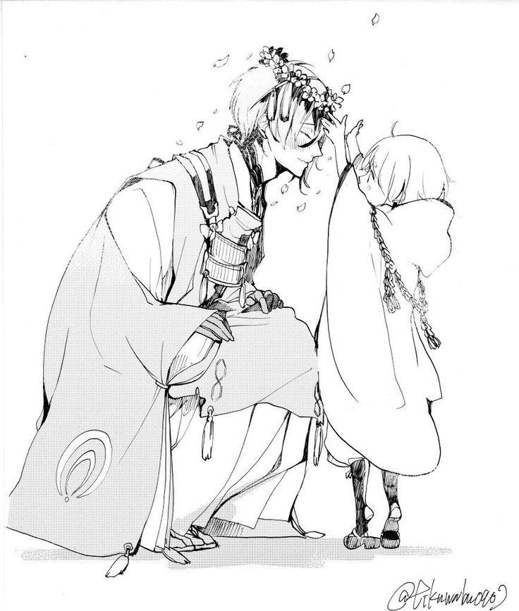 落書きみかちーと雛鶴ちゃん