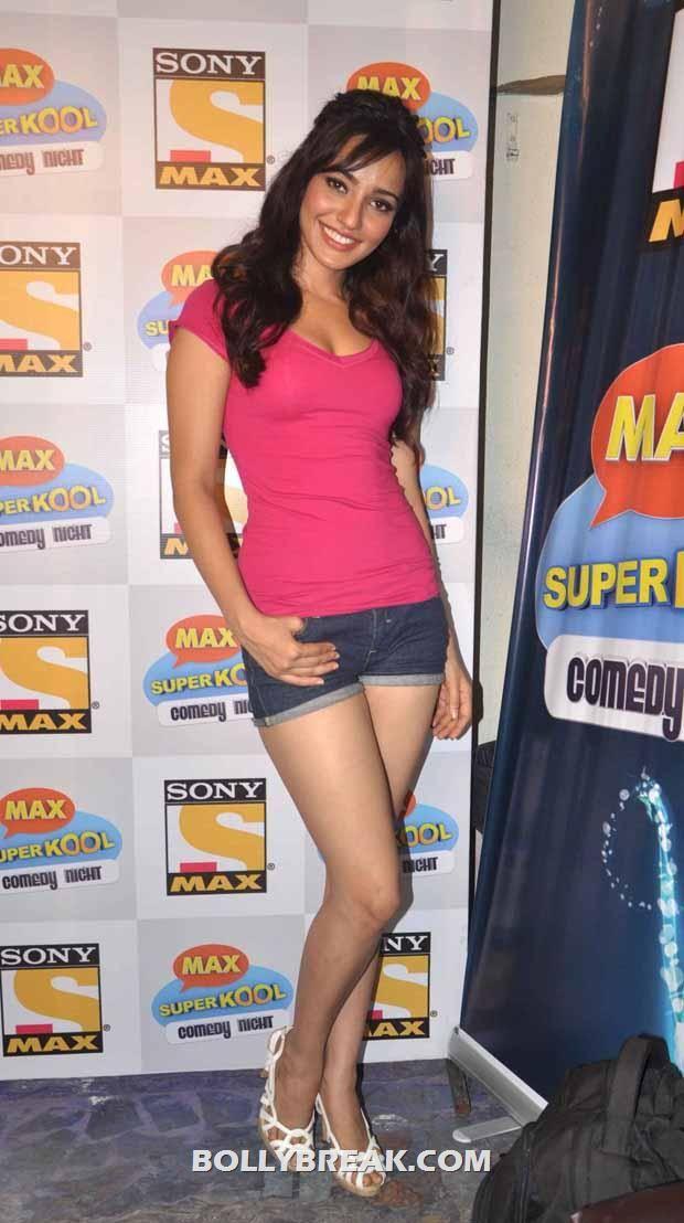 Neha Sharma In Denim Shorts - 2012 Pics