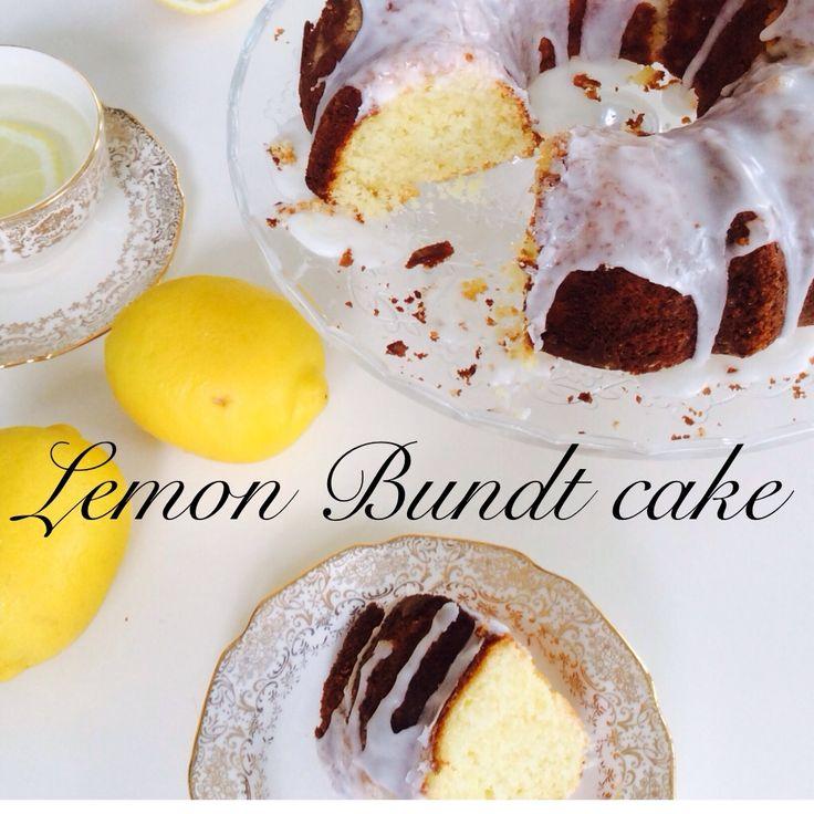 the best lemon bundt cake recipe!
