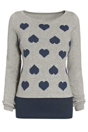 Whether buying this a gift or as a present to yourself - this heart print sweater is gorgeous! £32 from Next