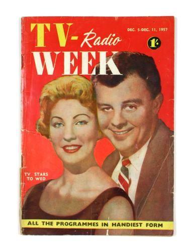 Magazine - Southdown Press, TV-Radio Week, December 1957