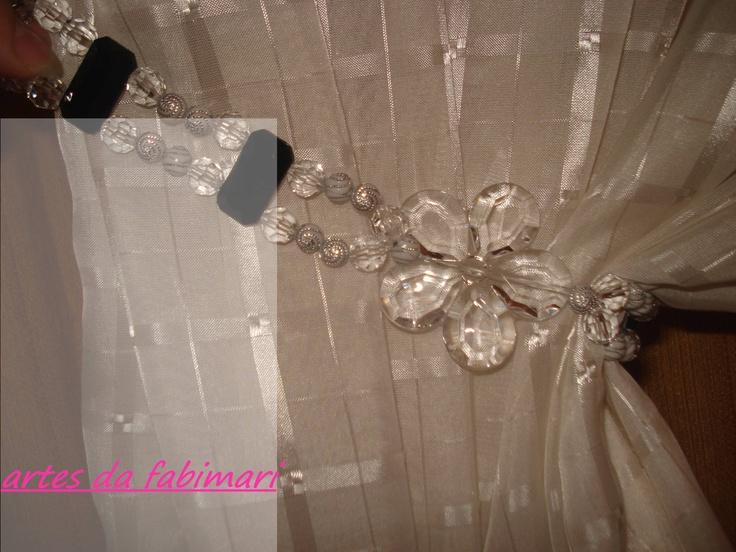 prendedor lateral para cortina