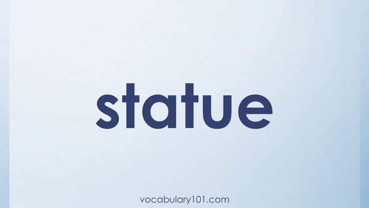 statue Meaning and Example Sentence   Learn English Vocabulary Word with Definition