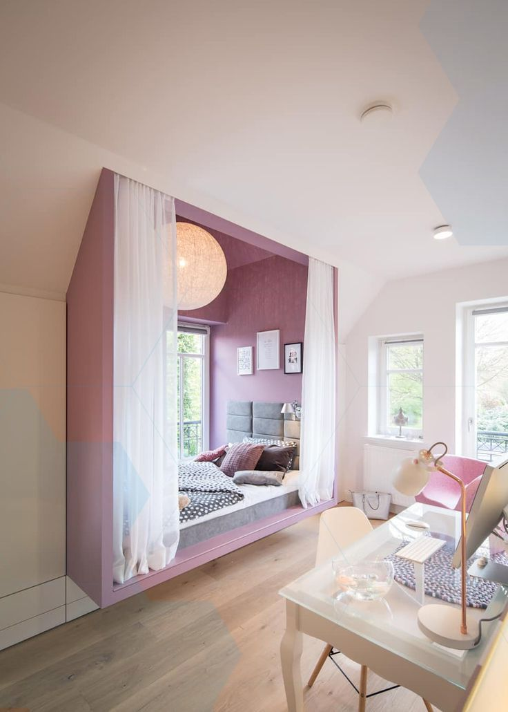 Girl 39 S Room House W Modern Nursery By Schulz Rooms Room Dream Rooms Home Decor