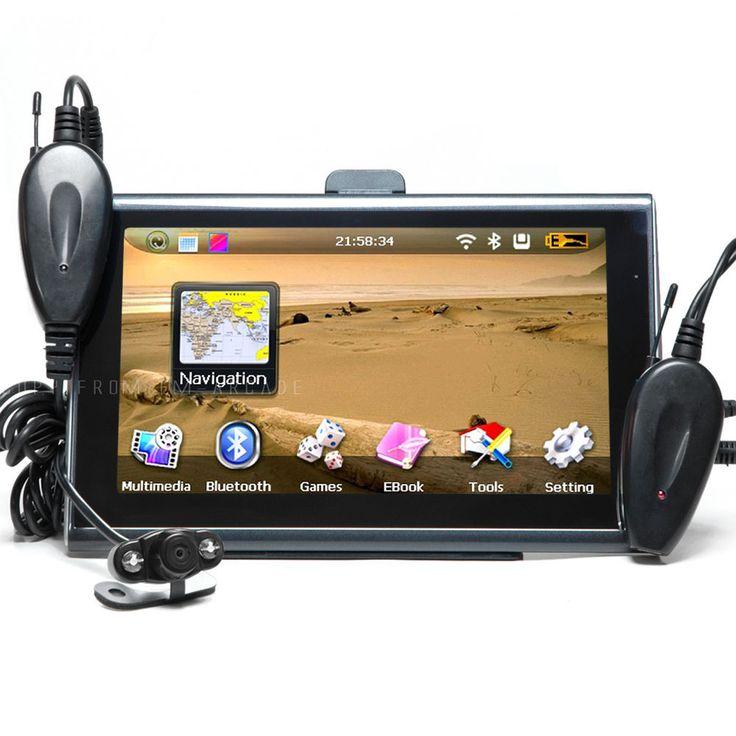 7 GPS Navigation Bluetooth + Wireless Rear View Camera AV 4GB New Map SpeedCam