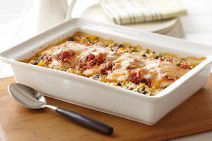 Poulet Santa Fe - Un plat aux saveurs de la cuisine du Sud-Ouest américain, d'influence mexicaine.