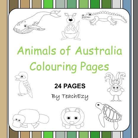 kangaroo tracks coloring pages - photo#47