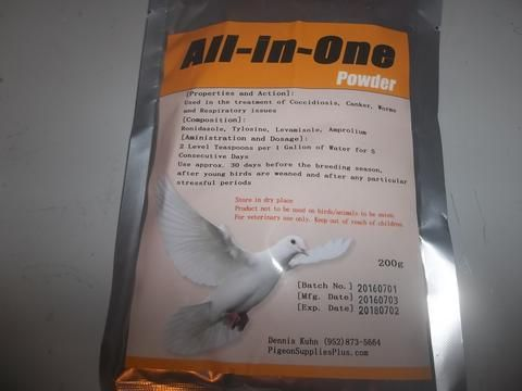"""""""All in One"""" 200 grams (Pigeon Supplies Plus line)"""