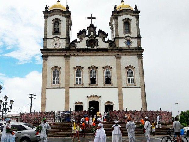 Salvador - Tradicional Lavagem do Bonfim será realizada no dia 12 de janeiro de 2017 (Foto: Jéssica Smetak/TV Bahia)
