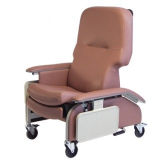 Deluxe Clinical Care Recliner with Drop Arms | 1800wheelchair.com  sc 1 st  Pinterest & 23 best Geri Chairs images on Pinterest | Recliners Barber chair ... islam-shia.org