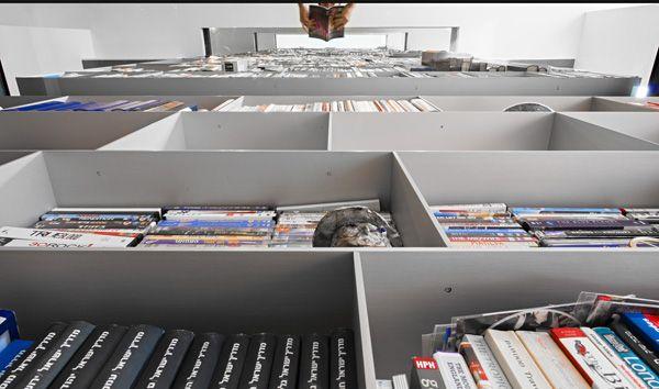 La casa de los libros diseño con glamour por SHH