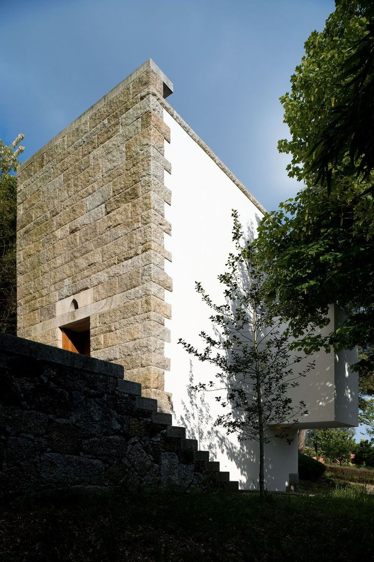 Álvaro Siza . Quinta de Santo Ovídio Chapel . Lousada (4)