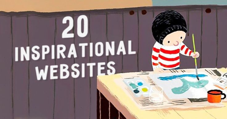 The 20 most inspirational websites on the net