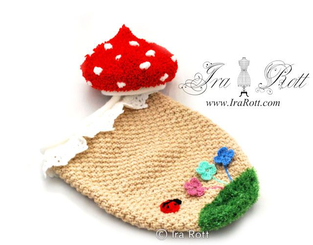 Forest Mushroom Hat and Cocoon Set for Newborn BabiesMushrooms Hats, Newborns Ready, Newborns Baby, Forests Mushrooms, Crochet Sets, Crochet Baby, Knits Baby, Cocoon Sets, Baby Sets