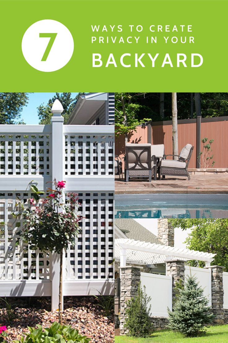 How-To: Creating Privacy in Your Backyard | Outdoor ...