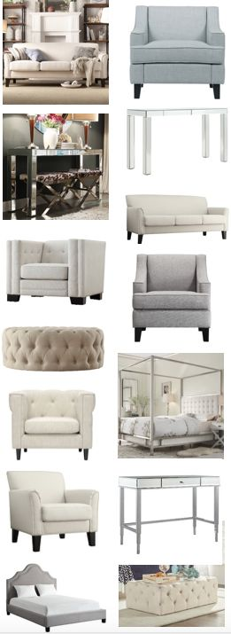 I can't see why anyone on a budget would shop anywhere else. This is amazing - that blue chair the top sofa are under $400 on the daily sale. I really love the silver console table too