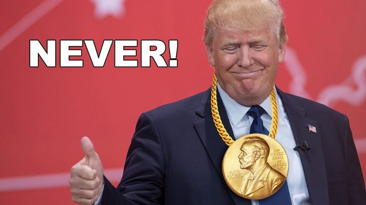 Remove Donald Trump for the list of nominees for the Nobel Peace Prize!
