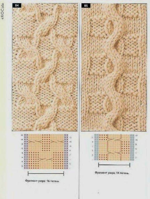 Victoria - Handmade Creations : 22 σχέδια για πλέξιμο πλεξούδας με βελόνες