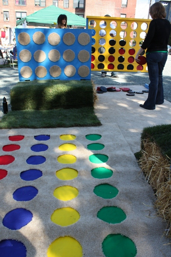 this is so neat; life-size games