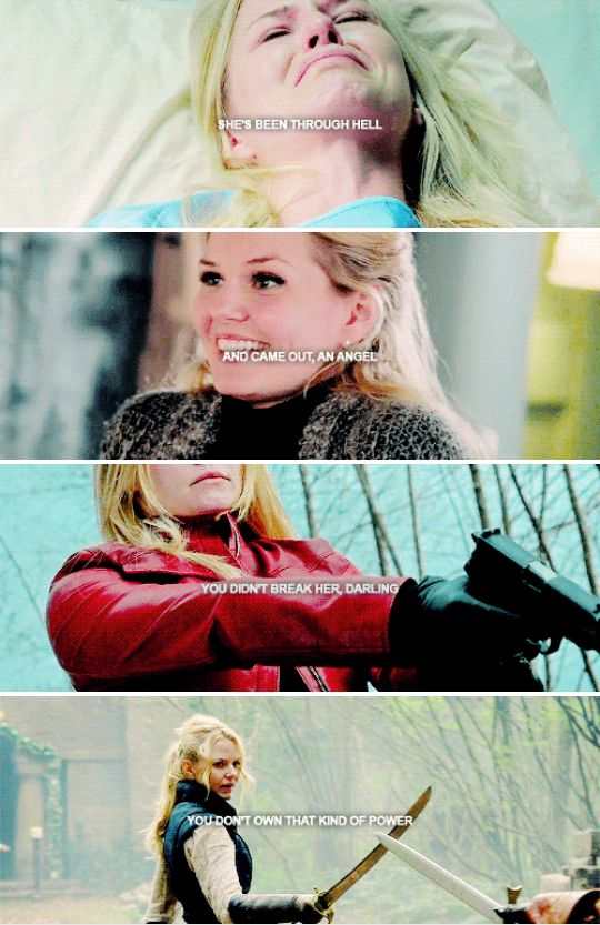 """I'm not nothing, I was never nothing!"" #ouat"