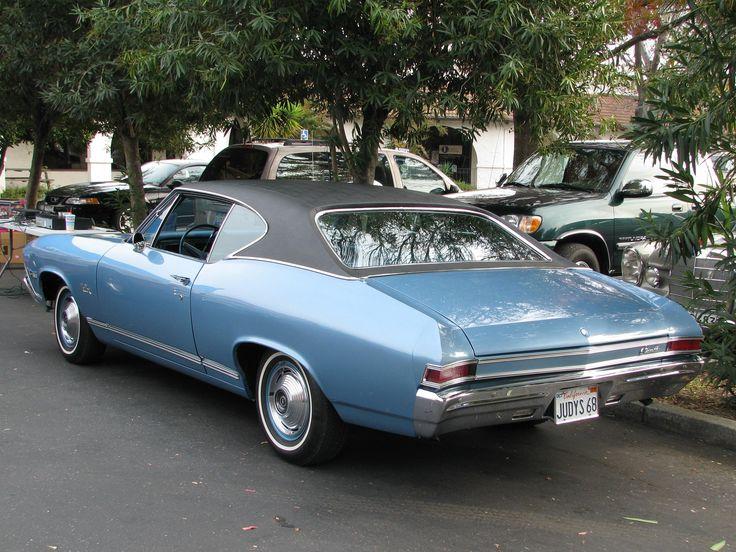 1968 Chevrolet Chevelle Malibu coupe  1960s Chevrolet