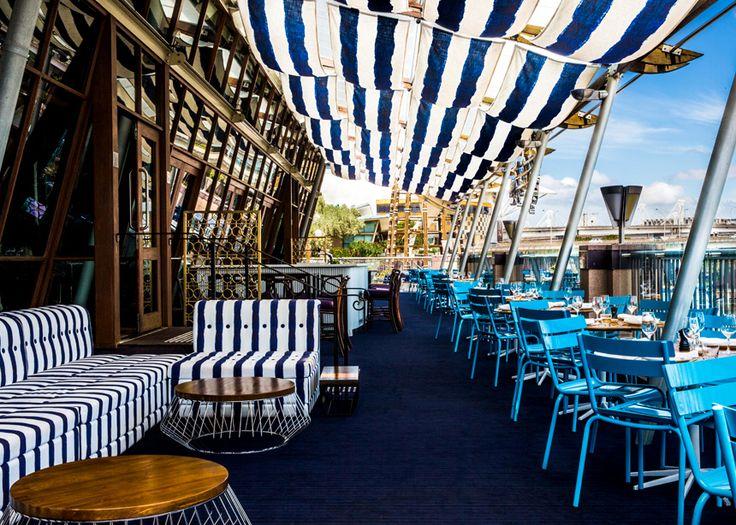 Café del Mar Sydney Rooftop Terrace of Cockle Bay Wharf, 201 Sussex Street, Sydney