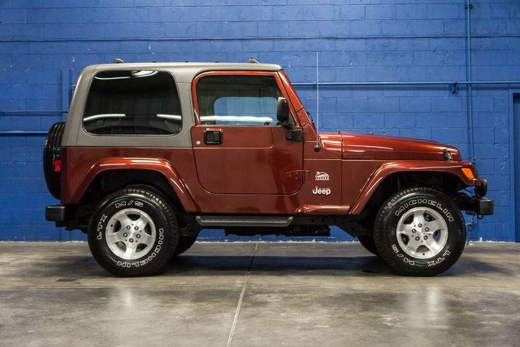 2003 Jeep Wrangler Sahara 4x4 Hard-Top For Sale at Northwest Motorsport! #nwmsrocks #jeepwrangler #jeeps